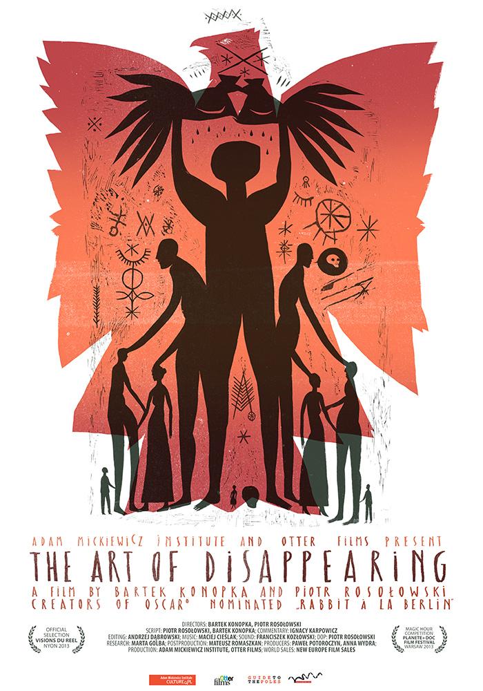 Sztuka znikania (plakat)